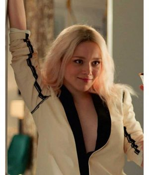 Ivanna Sakhno High Fidelity Jacket
