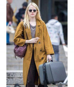 Maniac Annie Emma Stone Coat