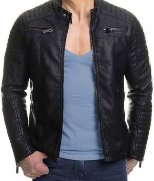 Mens Padded Slimfit Jacket