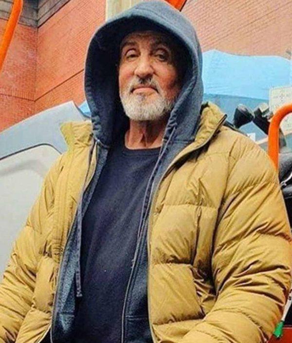 Sylvester Stallone Samaritan Jacket