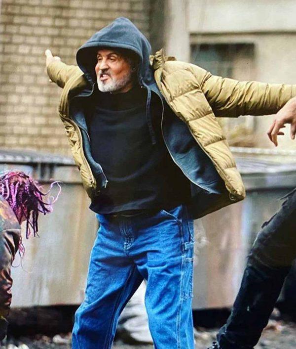 Samaritan Sylvester Stallone Jacket