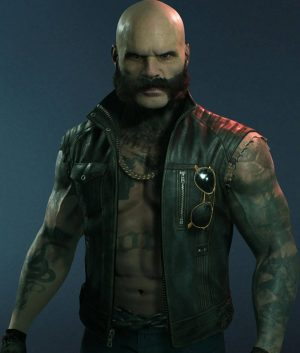 Brujah Clan Vampire The Masquerade Bloodlines 2 Vest