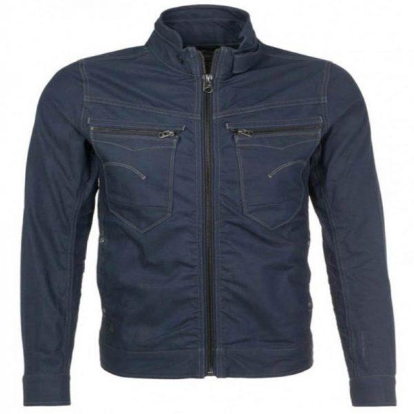 Vincent Keller Turn Up Collar Style Slimfit Jacket