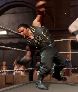 WWE 2K Battlegrounds Roman Reigns Leather Vest