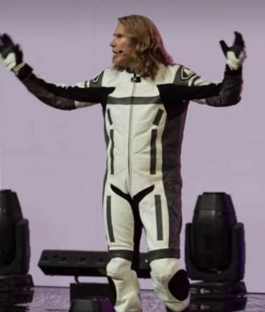 Eurovision Song Contest Will Ferrell Motorcycle Jacket
