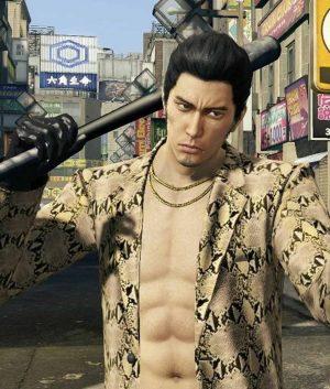 Snakeskin Yakuza Like A Dragon Goro Majima Jacket