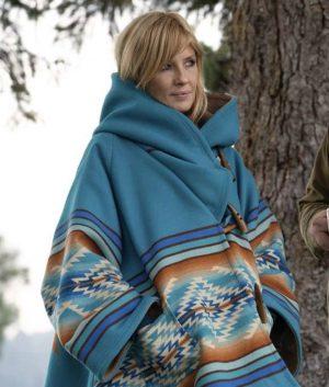 Yellowstone Beth Dutton Blue Coat