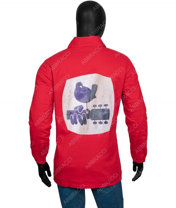 1969 Red Woodstock Security Jacket