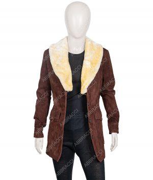 Yellowstone Season 02 Kelly Reilly Wool Blend Coat