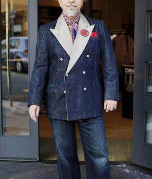 Bing Crosby Denim Tuxedo