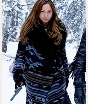 Wynonna Earp S04 Waverly Earp Shearling Coat