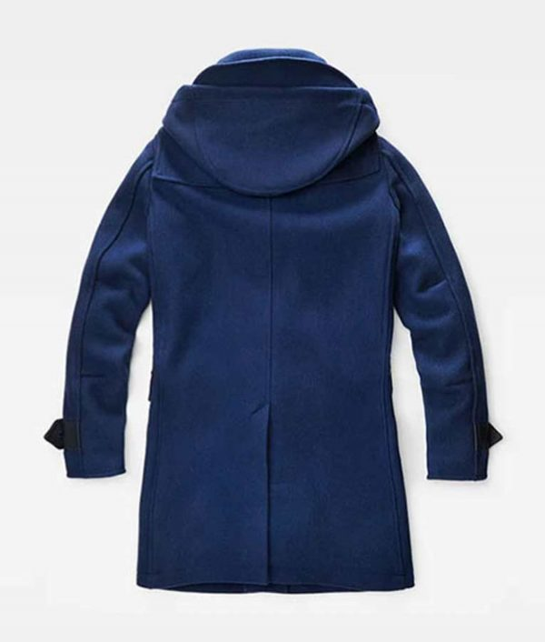 Young Woman I'm Thinking of Ending Things Jessie Buckley Coat With Hood