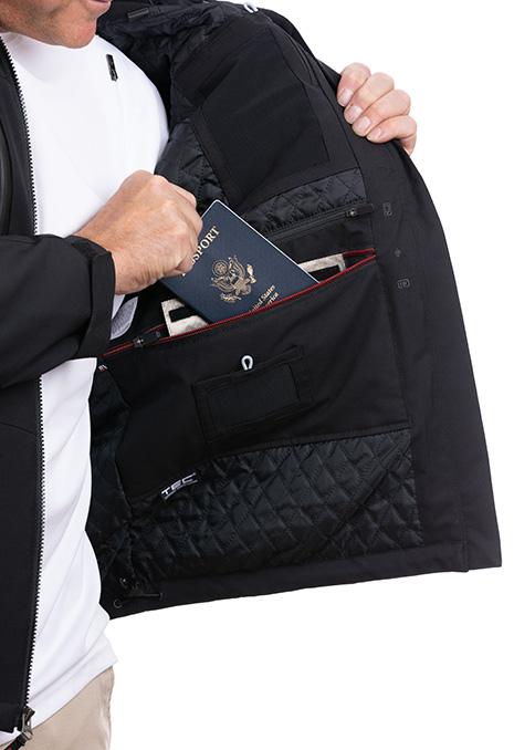 Black scottevest jacket