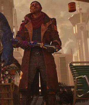Suicide Squad Kill The Justice League Captain Boomerang Leather Coat