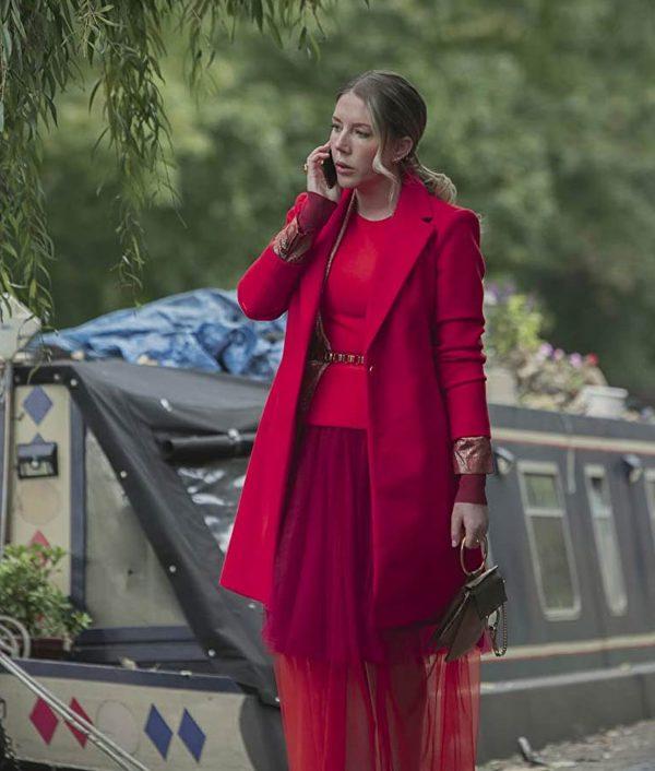 The Duchess Katherine Ryan Pink Coat