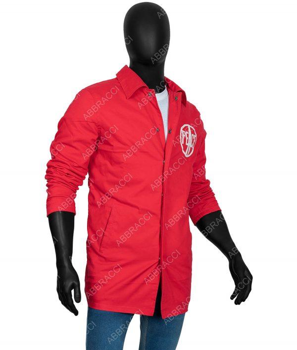 Red 1969 Woodstock Security Jacket