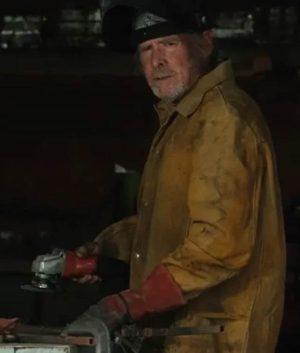 Yellowstone S03 Garrett Randle Brown Jacket