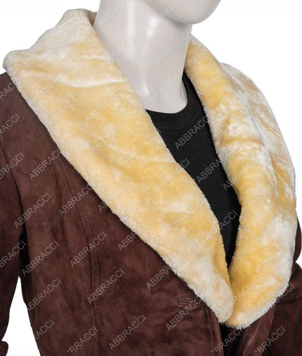 Yellowstone Season 02 Beth Dutton Coat With Fur Collar