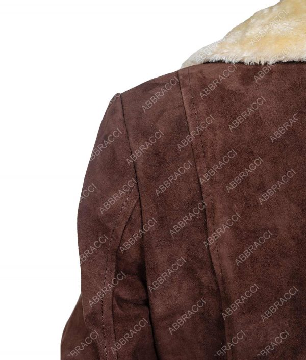 Yellowstone Season 02 Coat With Fur Collar