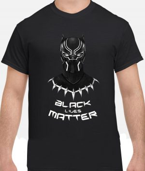 black panther black lives matter t shirt