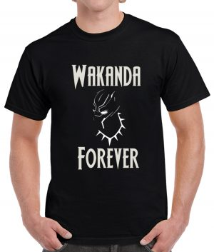 black panther wakanda forever black shirt