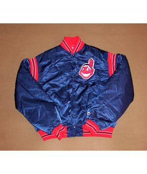 cleveland indian bomber jacket