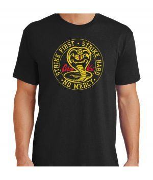 cobra kai black shirt