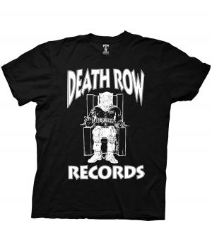 death row records black shirt