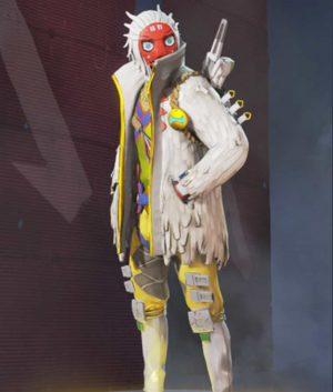 The Masked Dancer white Jacket