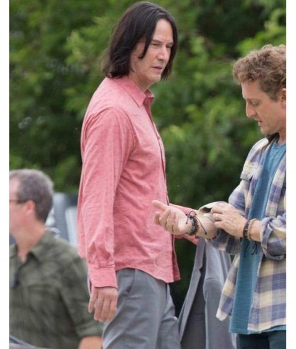 Pink Bill & Ted Face the Music Keanu Reeves Shirt