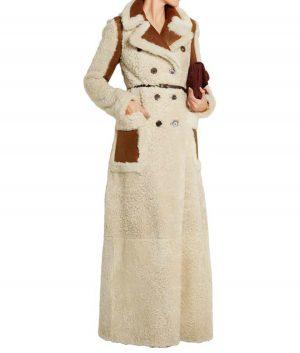 Camila Double-Breasted Long Coat