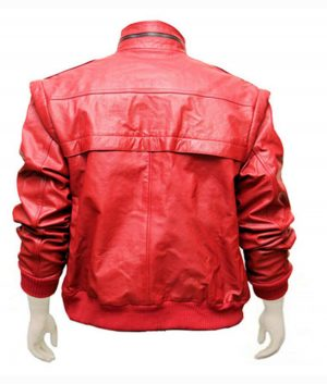 Johnny Lawrence Red Leather Cobra Kai Jacket