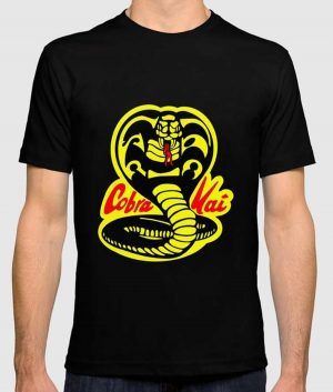 Cobra Kai Logo Black Shirt