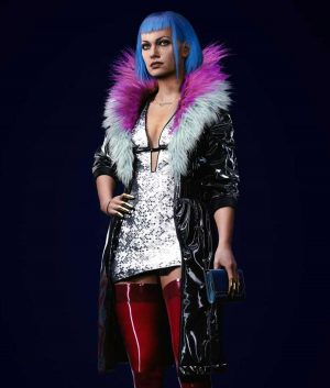 Cyberpunk 2077 Evelyn Parker Trench Coat