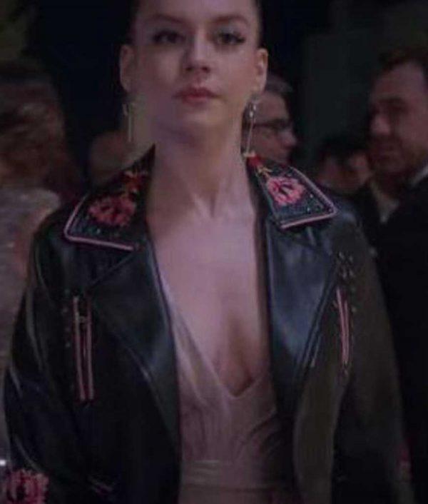 Elite Ester Exposito Leather Jacket