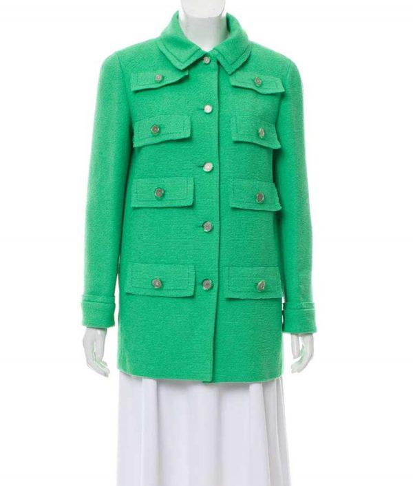 Multi-Pocket Emily In Paris Coat