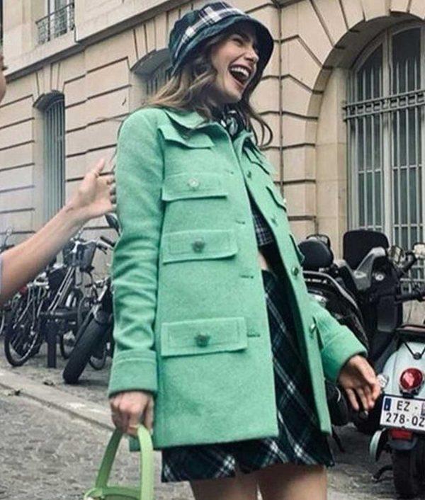 Emily In Paris Multi-Pocket Coat