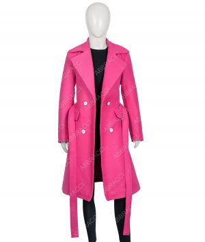 Emily in Paris Lily CollinsTrench Coat