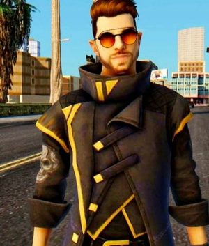 Alok Free Fire Trench Coat