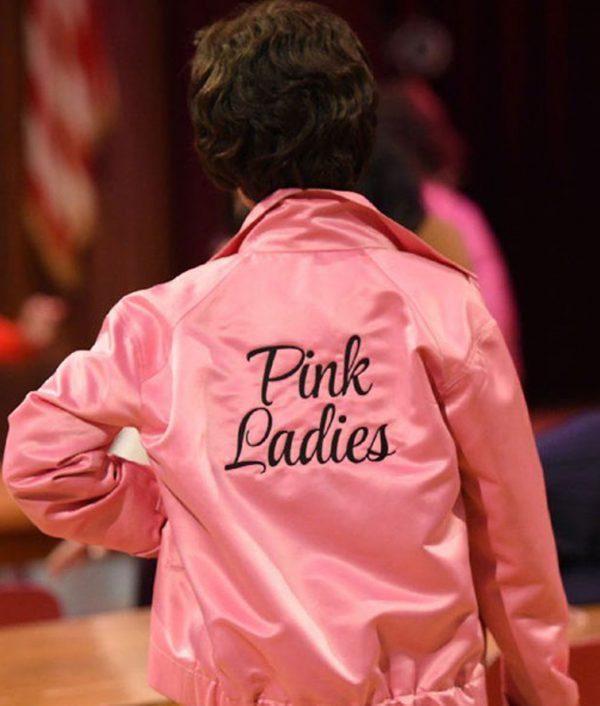 Pink Ladies Grease Satin Jacket