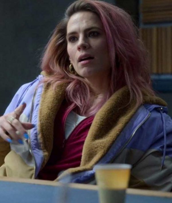 Hayley Atwell Criminal Uk Season 2 Stacey Doyle Jacket With Hood