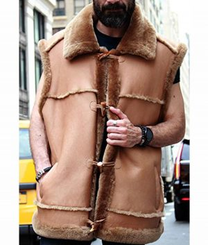 Jasper Camel Fur Vest