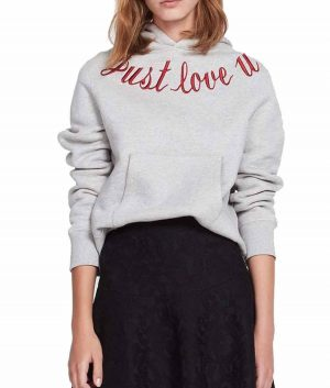 Just Love You Hoodie Jacket