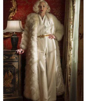 Ratched Sharon Stone Long Coat