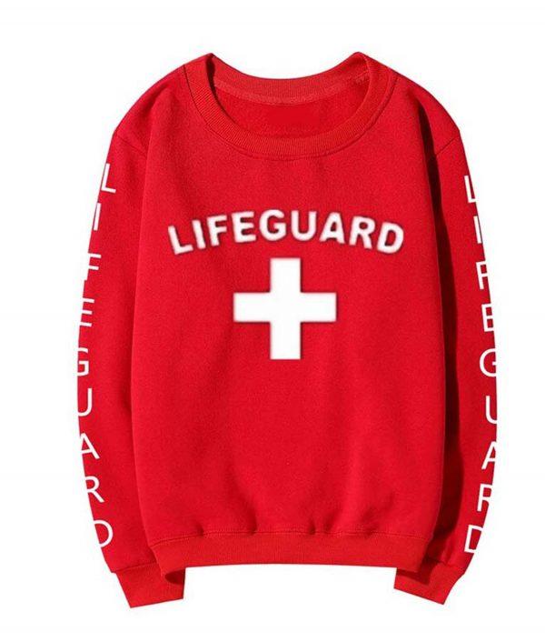 Lifeguard Red Sweatshirt