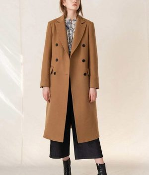 Love Guaranteed Susan Whitaker Double breasted Long Coat