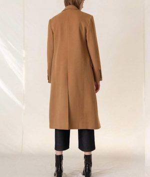 Love Guaranteed Susan Whitaker Camel Coat