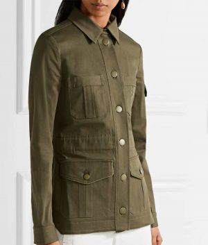 Melania Trump Military Cotton Jacket