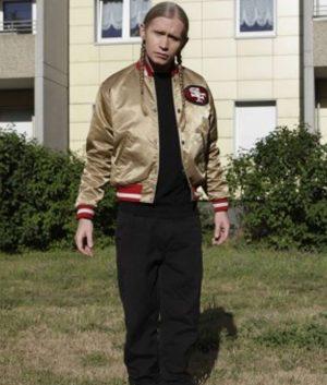 San Francisco 49ers Gold Jacket