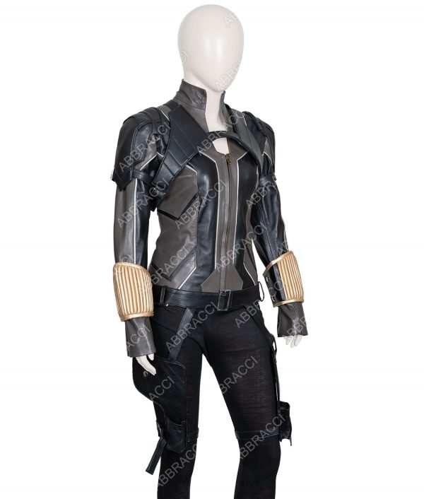 Scarlett Johansson Black Widow 2020 Movie Leather Jacket